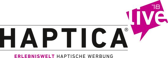 HAPTICA ® live Sticky Logo