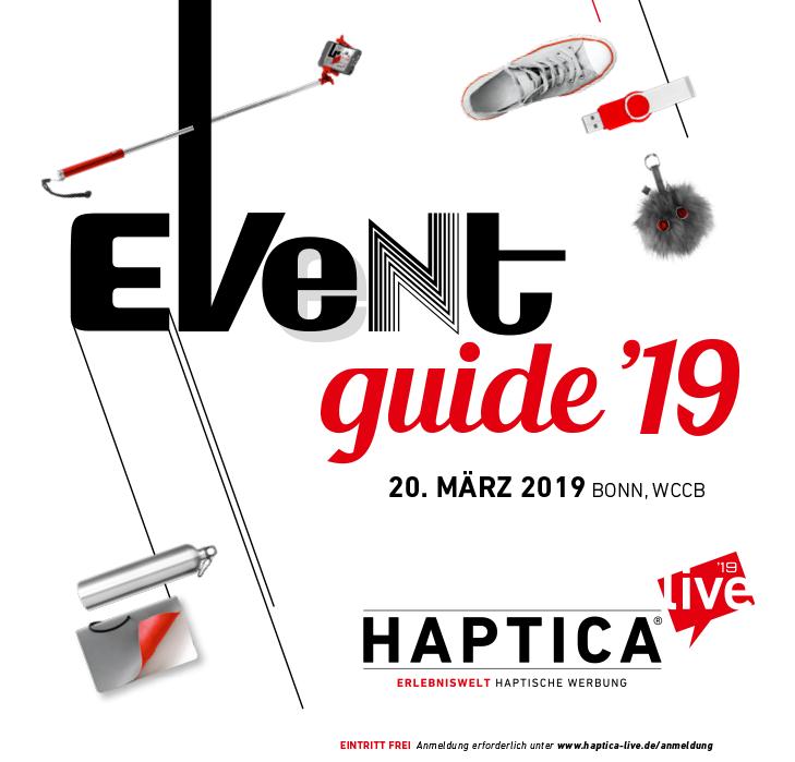 HL19 Eventguide Cover - HAPTICA ® live