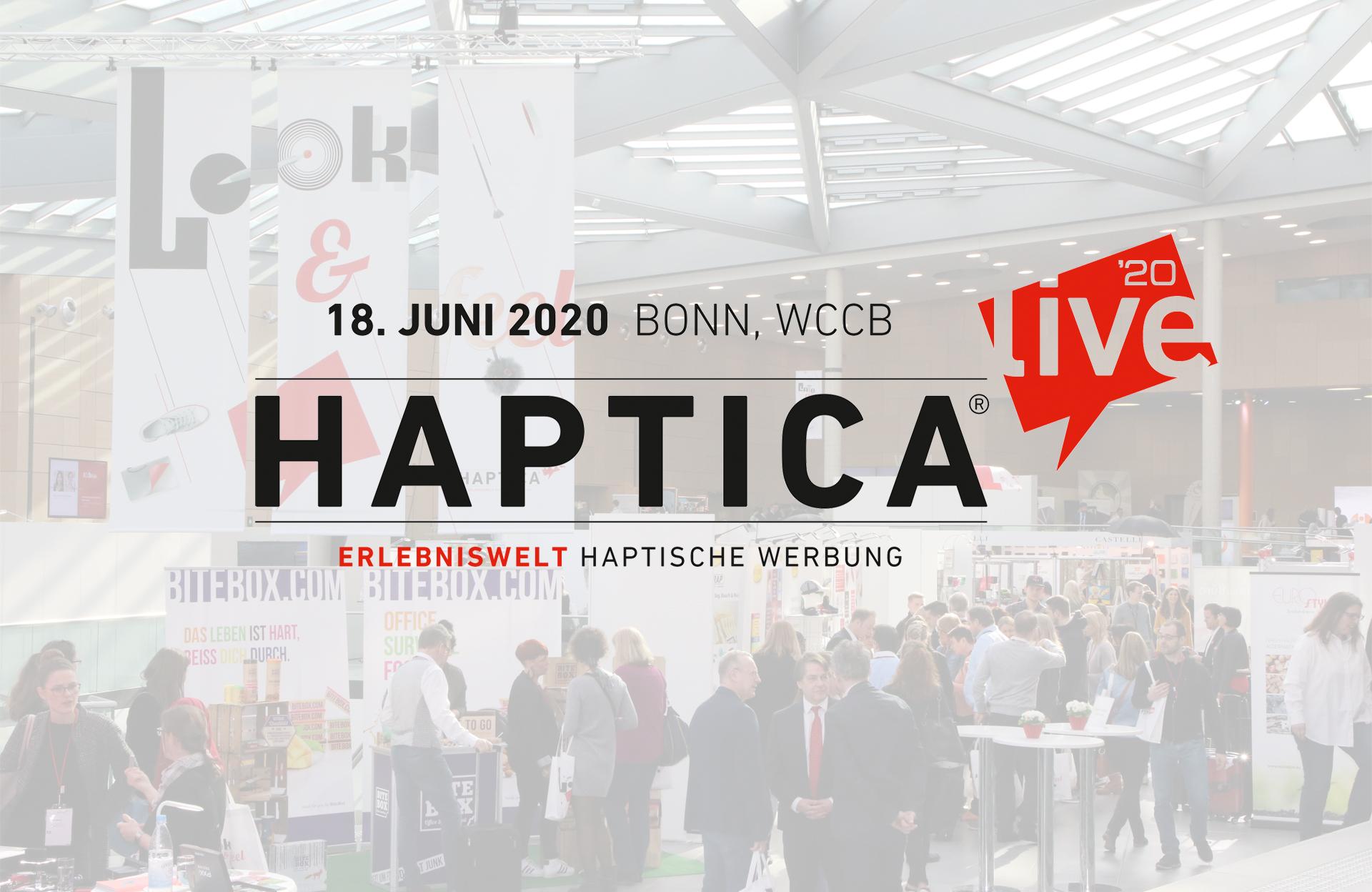 Hintergrund 2020 neuerTermin D - HAPTICA ® live